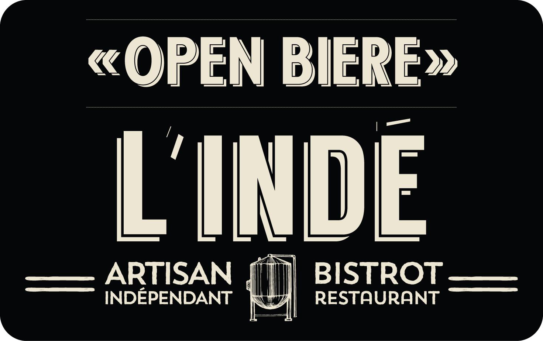 Carte Open Biere
